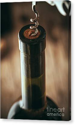 Wine Canvas Print by Mythja Photography