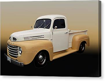 50 Ford Pickup Canvas Print by Jim  Hatch