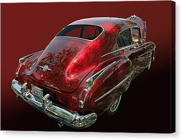 50 Olds Fastback Canvas Print