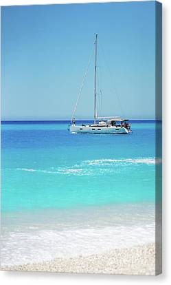 50 Shades Of Blue Canvas Print