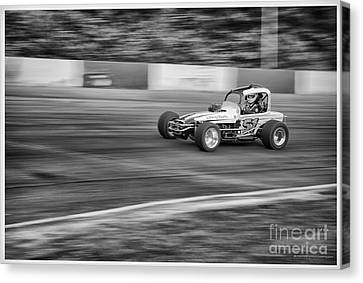 51 In The Lead. Canvas Print by Wayne Wilton