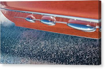 Mahogany Magic Canvas Print by Steven Lapkin
