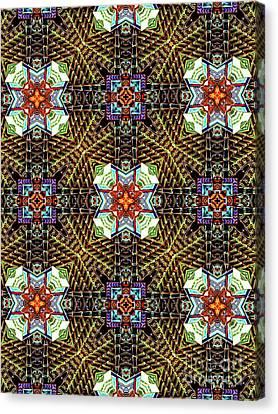 Unique Design Pattern Canvas Print by Amy Cicconi