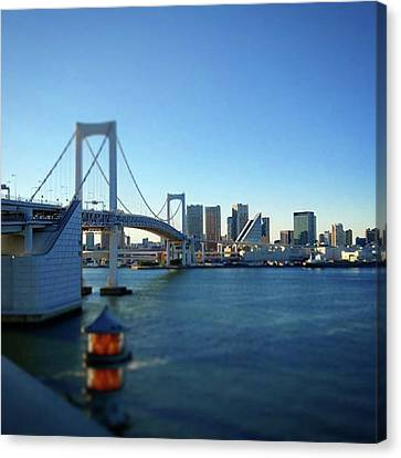 Instagram Photo Canvas Print by Bow Sanpo