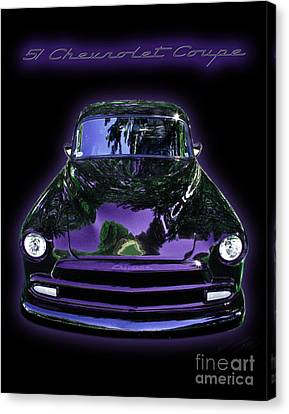 51chevrolet Coupe Canvas Print by Peter Piatt