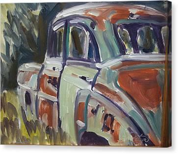 52 Chevy Canvas Print by Robert Martin