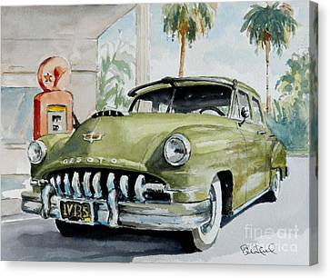 '52 Desoto Canvas Print