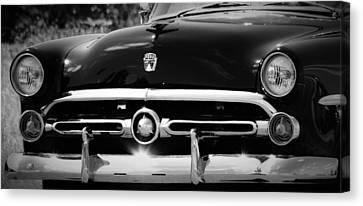 '52 Ford Customline  Canvas Print by Dennis Nelson