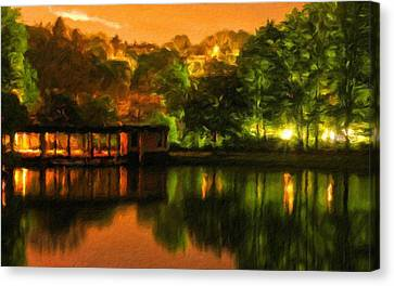 Landscape Color Canvas Print by Victoria Landscapes