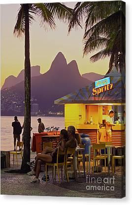 Dois Irmaos Canvas Print - Rio De Janeiro by Karol Kozlowski