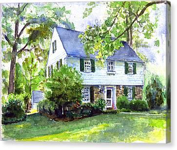 5211 Purlington Way Canvas Print by John D Benson