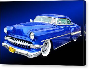 53 Chevrolet Canvas Print by Jim  Hatch