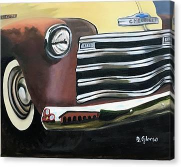 53 Chevy Truck Canvas Print