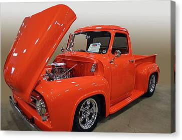 53 Ford F100  Canvas Print by Bill Dutting