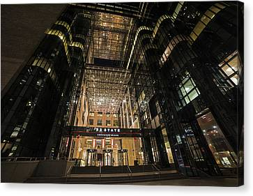 53 State Street Boston Ma Exchange Place Canvas Print by Toby McGuire