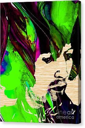 Eric Clapton Collection Canvas Print
