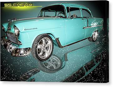 55 Chevy Canvas Print
