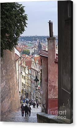 Prague Canvas Print by Andre Goncalves