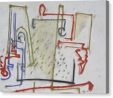 55 Canvas Print by Stefan Hermannsson
