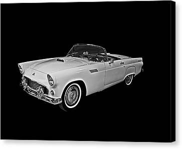 Canvas Print featuring the photograph 55 T Bird by Gary Smith