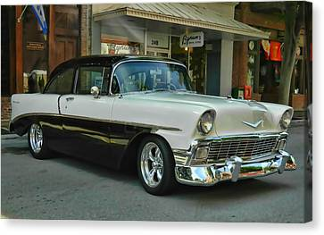 '56 Chevy Hot Rod Canvas Print