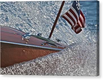Patriotic Classic Canvas Print by Steven Lapkin