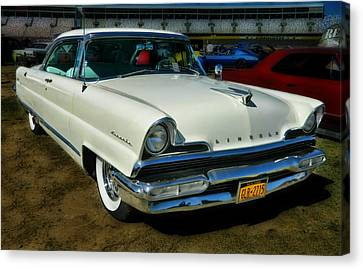 '56 Lincoln Canvas Print by Victor Montgomery
