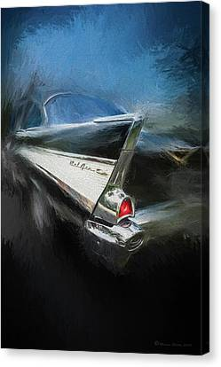 Grill Canvas Print - 57' Belair by Marvin Spates