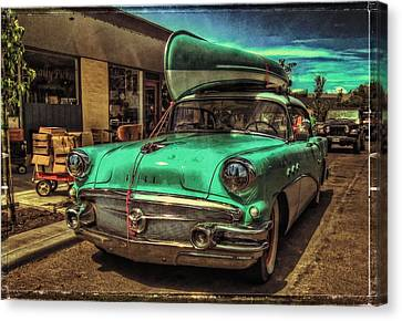 57 Buick - Just Coolin' It Canvas Print