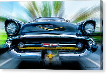 57' In Yo Face Canvas Print by Marvin Spates