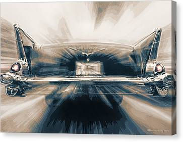 57' Speed Dream Canvas Print by Marvin Spates