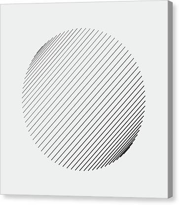 Generative Canvas Print - #571 Lines by David Mrugala