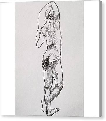 Figure Canvas Print by Naoki Suzuka