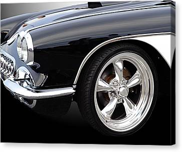 59 Vette Canvas Print by Jim  Hatch