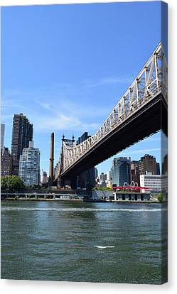 59th Street Bridge No. 13 Canvas Print by Sandy Taylor