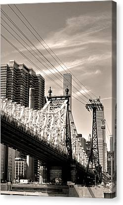 59th Street Bridge No. 4-1 Canvas Print