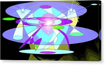 5.th Dimension Canvas Print