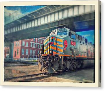 5th Street Bridge Canvas Print by Dustin Soph