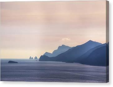 Italian Islands Canvas Print - Amalfi Coast by Joana Kruse