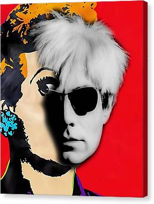 Andy Warhol Collection Canvas Print