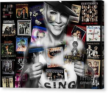 Annie Lennox Collection Canvas Print
