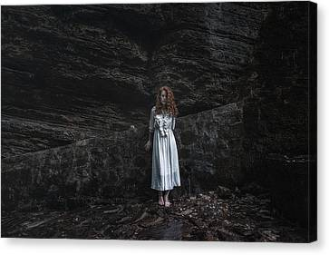 Canvas Print featuring the photograph Aretusa by Traven Milovich