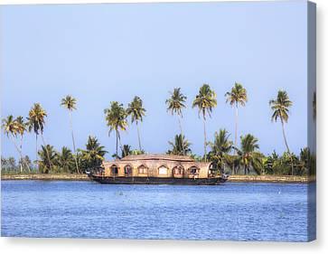 Backwaters Kerala - India Canvas Print by Joana Kruse