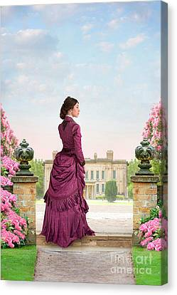 Beautiful Victorian Woman Canvas Print
