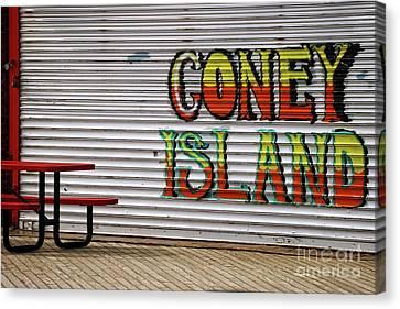 Coney Island, Usa Canvas Print
