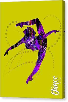 Dance Collection Canvas Print