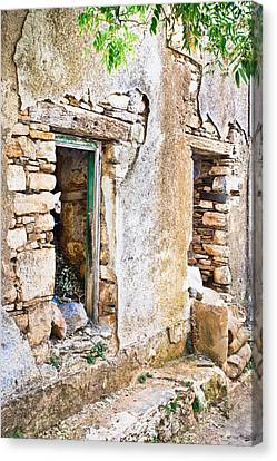 Derelict House Canvas Print by Tom Gowanlock