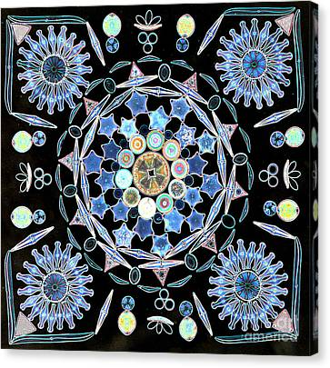 Diatoms Canvas Print by M I Walker