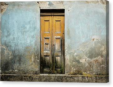 Door With No Number Canvas Print by Marco Oliveira