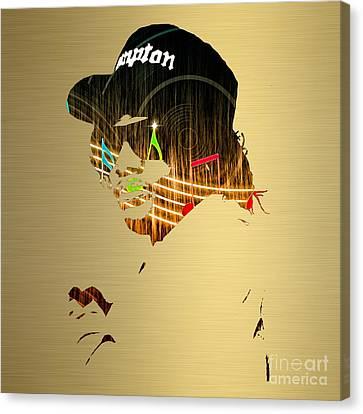 Musician Canvas Print - Eazy E Straight Outta Compton by Marvin Blaine